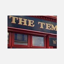 The Temple Bar pub, Temple Bar, D Rectangle Magnet