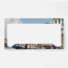 Italy, Venice. Gondola ride o License Plate Holder