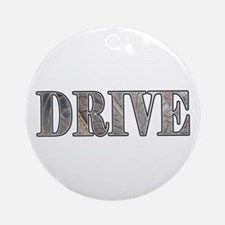 Drive  Ornament (Round)