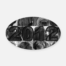 cover2012 copy Oval Car Magnet