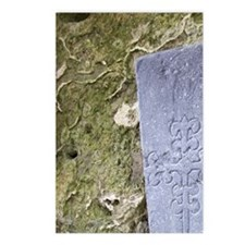 Medieval stone crarved he Postcards (Package of 8)