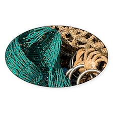 Ireland, Killybegs. Fishing net det Decal