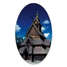 NORWAY, Oslo Stavr Church Decal