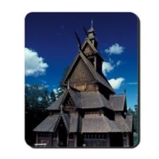 NORWAY, Oslo Stavr Church Mousepad