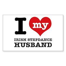 I love my Irish Stepdancehusband Decal
