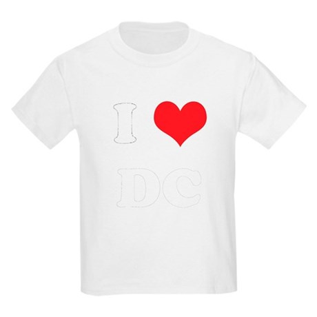 I Heart DC Kids T-Shirt