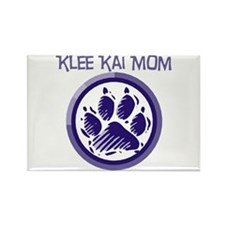 Klee Kai Mom Rectangle Magnet