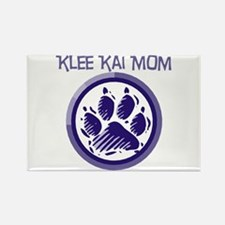 Klee Kai Mom Rectangle Magnet