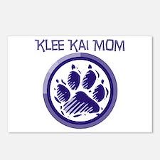 Klee Kai Mom Postcards (Package of 8)