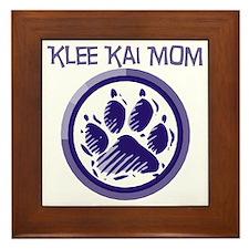 Klee Kai Mom Framed Tile