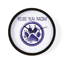 Klee Kai Mom Wall Clock
