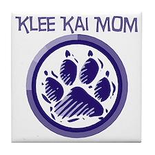 Klee Kai Mom Tile Coaster