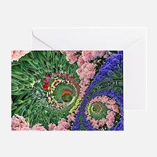 Tulip garden, Holland Greeting Card