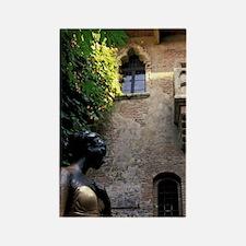 Italy, Veneto, Verona. Juliette's Rectangle Magnet