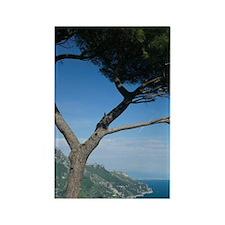 Ravello: View of the Amalfi Coast Rectangle Magnet