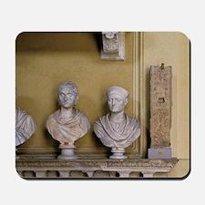 Museo Chiaramonti - marble roman bustsan Mousepad