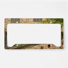 The medieval Akershus Castle  License Plate Holder