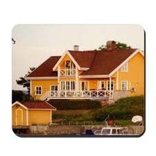 Norway, Oslo, Summer homes on the Oslofj Mousepad