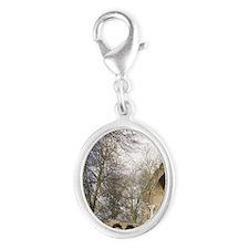 Gelderland Silver Oval Charm