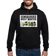 Genealogies Most Wanted Hoodie