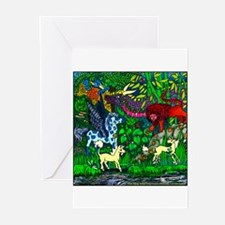 Encounters in the Rainforest Greeting Cards (Packa