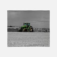 Working the Fields Throw Blanket