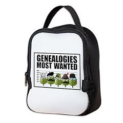 Genealogies Most Wanted Neoprene Lunch Bag