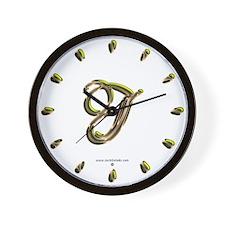 Phyllis Initial J Wall Clock