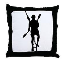 Cute Juggle Throw Pillow