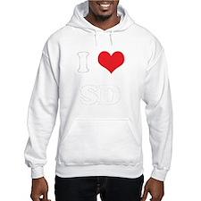 I Heart SD Hoodie