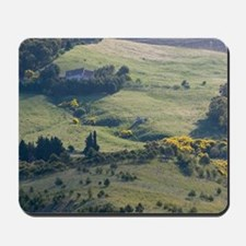 Italy, Sicily, Enna, Morning View of the Mousepad