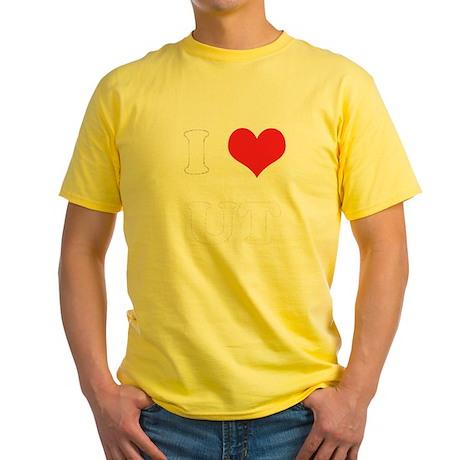 I Heart UT Yellow T-Shirt