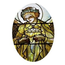 Angel of Peace Ornament (Oval)