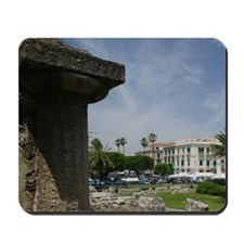 Oldest peripheral Doric Temple in Sicily Mousepad