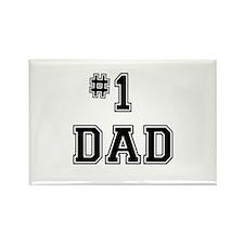 #1 Dad Magnets