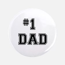 "#1 Dad 3.5"" Button (100 pack)"