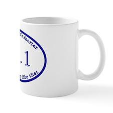 halfmarathon_oval Mug