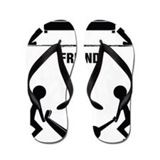 friends Flip Flops