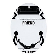 friends Oval Ornament