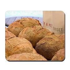 Norwegian bakery bread Mousepad