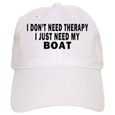 I DONT NEED THERAPY 4 WHITE Baseball Cap