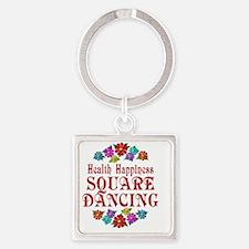 square Square Keychain