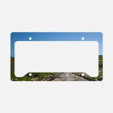 Ruins of ancient Phoenician c License Plate Holder