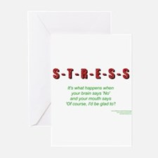 Stress Greeting Cards (Pk of 10)