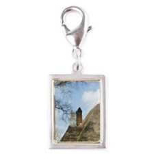 Arnhem. Typical country home Silver Portrait Charm