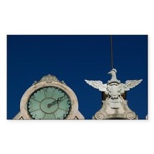 Twin Clock Towerrapani, Palazz Decal