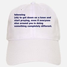 Tebowing Definition Baseball Baseball Cap
