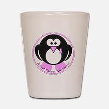 Pink Penguin Shot Glass