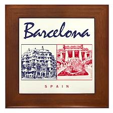 Barcelona_7x7_apparel_CasaMila_ParcGue Framed Tile
