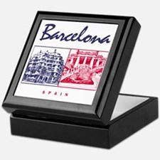Barcelona_7x7_apparel_CasaMila_ParcGu Keepsake Box